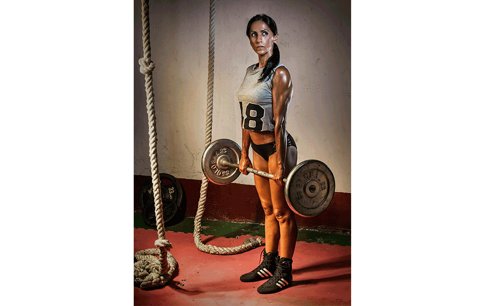fotografía fitness Valencia, Penélope Zabala