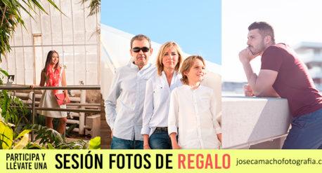 Sorteo sesion fotos en Valencia