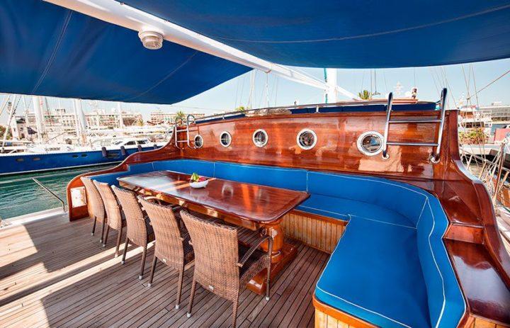 fotografía barcos de lujo Valencia