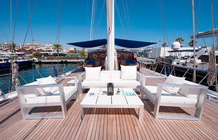fotografía embarcaciones de lujo Marina Real