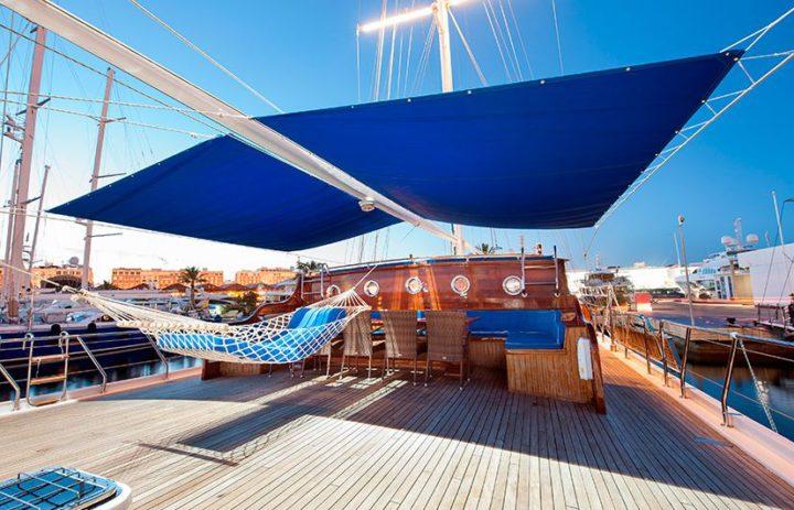 fotografía embarcaciones de lujo Valencia