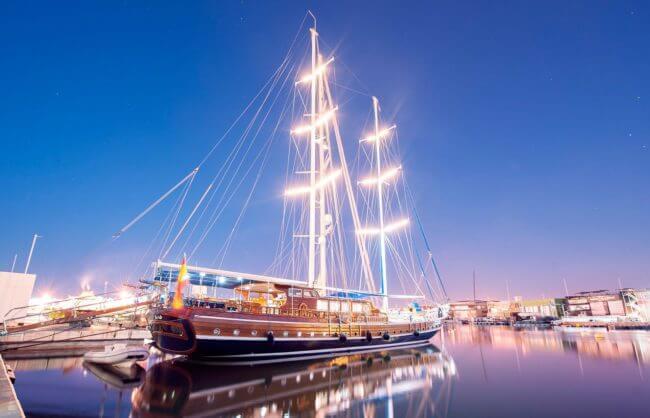 fotografia embarcaciones de lujo en Valencia