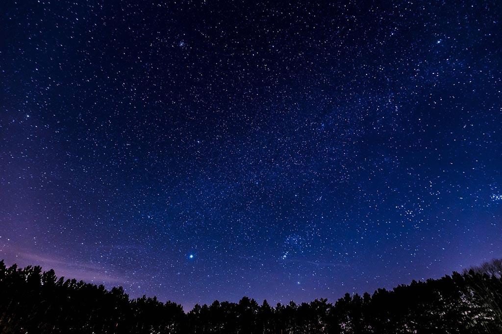 Lluvia de estrellas, fotografía nocturna en Valencia