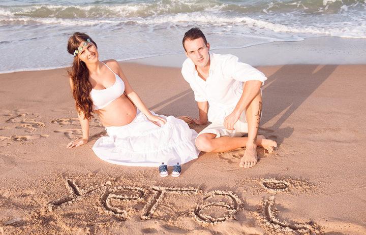 fotografía Valencia embarazo