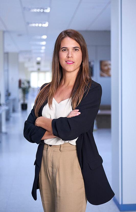 Lorena Ibañez, Grupo EULEN fotografía corporativa por Jose Camacho