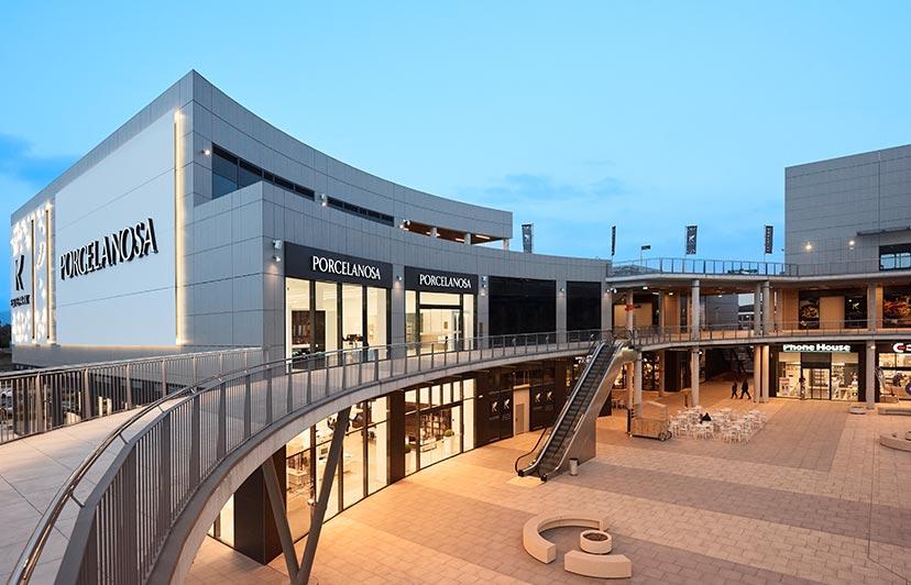fotografía centro comercial
