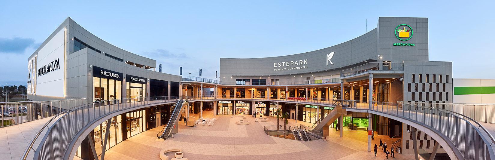 fotografía centros comerciales estepark