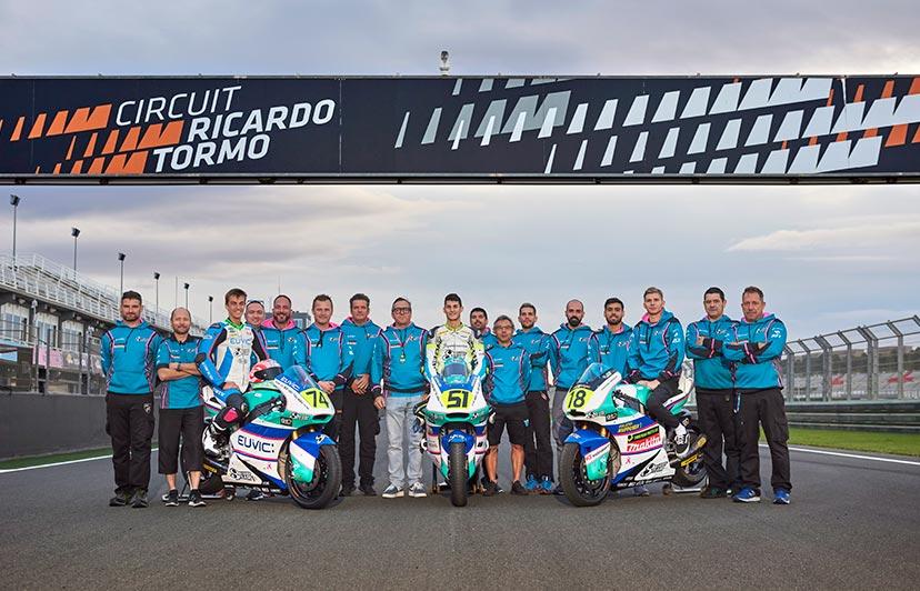 fotografía eventos deportivos equipo stylobike moto2 cheste valencia