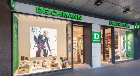 fotografía local comercial deichmann madrid