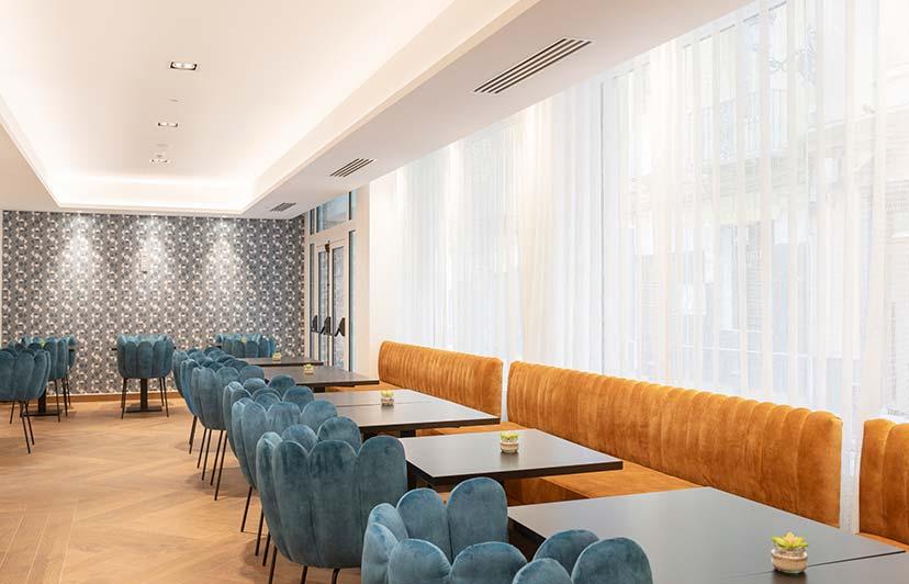 fotografía comedor de hoteles Alicante