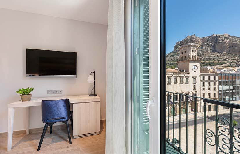 fotografía de hoteles vistas desde habitación