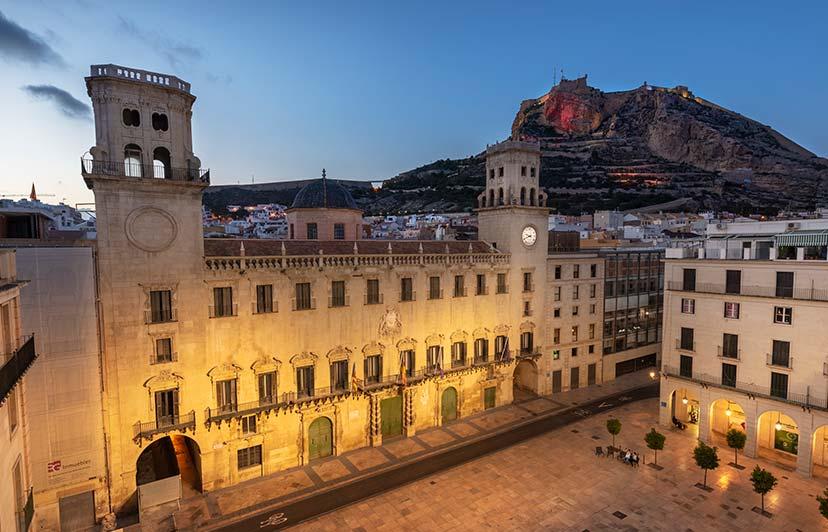 fotografía vistas de hoteles eurostars Alicante