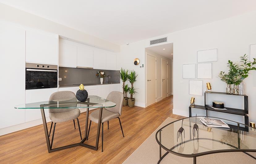 fotografía decoración e interiorismo pisos piloto
