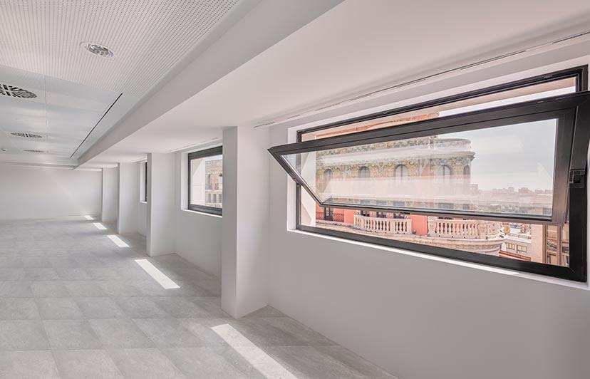 fotografía oficinas lujo pintor sorolla valencia