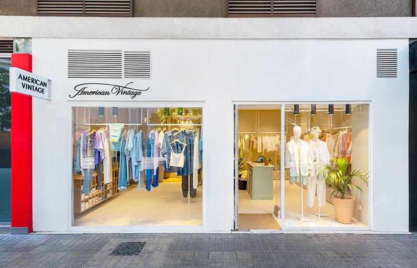 fotografía tienda moda american vintage en valencia