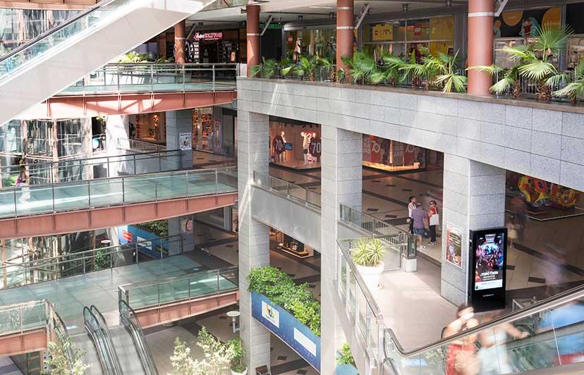 fotógrafo publicidad exterior centros comerciales