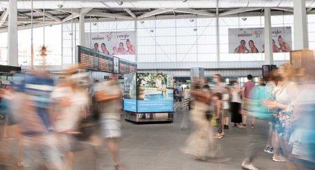 fotógrafo publicidad exterior estaciones valencia